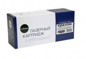 Картридж hp CB435A / CB436A NetProduct